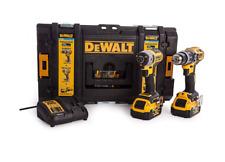 DeWalt DCK2500P2B-GB 18v 2x5.0Ah Tool Connect Hammer Drill/Driver Kit