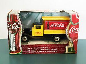 ERTL Coca-Cola 1930 Chevrolet Delivery Truck Diecast Bank