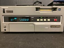 Panasonic AJ-D450 DVC Pro Player Tested For Power. Good Cosmetic Cond!! MW