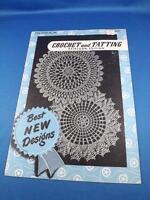 CROCHET AND TATTING HEIRLOOM EDITION PATTERN BOOK STAR 66 BEST NEW DESIGN 1949