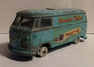 Vintage 1960s Corgi Toys 441 VW Volkswagen van TOBLERONE Trans-O-Lite headlamps