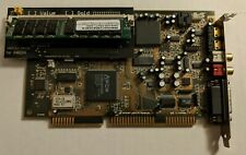 Sound Blaster AWE64 Gold CT-4540 + SIMMConn Revival & 32MB RAM - ISA sound card