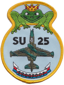 Sukhoi Su-25 Frogfoot Soviet Union Embroidered Patch