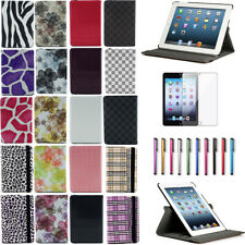 New Rotating Magnet Leather Case Smart Cover Stand for iPad 2 3 4 Mini 1 2 3 Air