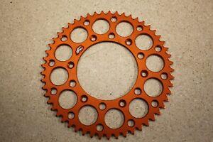 Orange Renthal Ultralite 224U-520 KTM Rear Sprocket 53T KTM Husqvarna 5683