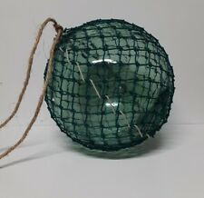 """Huge 13"""" authentic Japanese Glass Fishing Floats With Netting tuna float"""