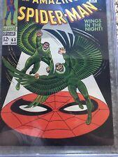Amazing Spider-Man #63 CGC 6.5 -- 1968 -- Vulture Blackie Drago #1032466027