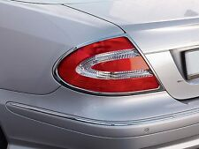Mercedes w209 CHROME Taillight Frame Rings CLK tail lamp trim