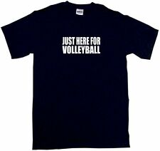 Just Here For Volleyball Kids Tee Shirt Boys Girls Unisex 2T-XL