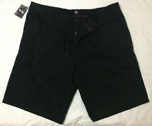 Target Mr Big Men's Hybrid Shorts in Pure Black Size 7XL - Big & Tall