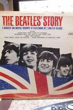 The Beatles' Story  1964 Capitol Records Label 2 LPs Hi-Fidelity TBO 2222