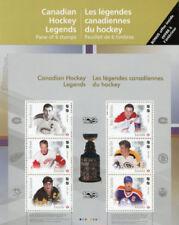 Canadian Hockey Sports Postal Stamps