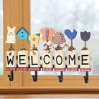 1PC Multifunctional Creative Lovely WELCOME Wall Hook Key Holder for Hotel