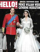 Hello Magazine Kate Middleton Prince William Royal Wedding Souvenir Issue 2011 .