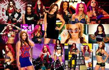 Sasha Banks (WWE) Collage Poster