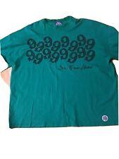 Gino Green Global Size 3XL Men's T-Shirt Big Cotton Short Sleeve
