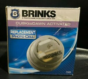 Brinks Photo Cell Sensor Dusk to Dawn Activated HID Replacement Model 7265 NEW