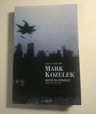 Mark Kozelek Nights of Passed Over/Noites de Atropelo Book First NM 2002 RARE!