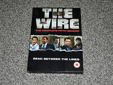 THE WIRE : THE COMPLETE FIFTH SEASON (5th) DVD BOX SET In VGC (FREE UK P&P)