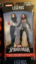 Marvel Legends Silk Spiderman Spider-Verse 2 Movie Avengers BAF Rare MISB & HTF
