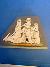 Cat's Meow Dancing Cat sailing ship