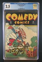 Comedy Comics #16 CGC 2.5 - Extremely Rare