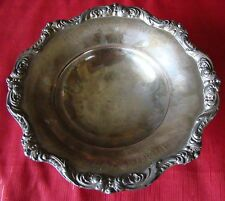 Vintage - Naval War College - Wives Bowling - Silver-Plate - Footed Bowl - Award