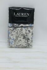 Ralph Lauren Home Devon Botanical 200Tc Cotton Percale King Pillowcases Charcoal