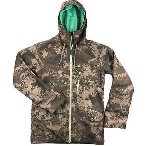 Oakley Mens Medium Camo Thermal Lined Snowboard Ski Hooded Jacket