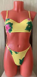 La Perla Marvel vintage rare new sexy thong bikini swimsuit set, size S-M(42-4)