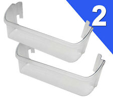 (2 PACK) Frigidaire Kenmore Sears Refrigerator CLEAR Door Bin (Check Model List)