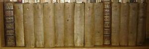 ROLLIN -CREVIER. - Histoire romaine depuis la fondation de Rome. 15 volumes. pl.