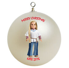 Personalized American Girl Julie Christmas Ornament