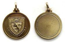 Medaglia Brigata Alpina Taurinense Metallo Argentato, Diametro cm 2,7
