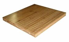 "3/4"" Reversible Solid Bamboo Go and Chinese Chess Game Board"