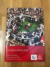 Epsom DERBY 2006 Racecard Excellent Condition mark free