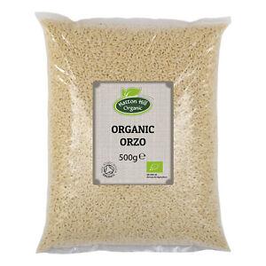 Organic Orzo (Risoni) 500g Certified Organic