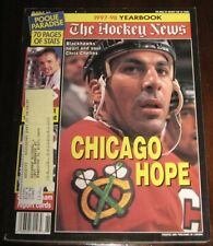 The Hockey News Yearbook 1997-98 Chris Chelios Cover Chicago Hope