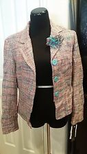 NEW Size 10 e By ECI Multi-Colored Blazer