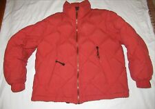 Vintage Tommy Hilfiger Puffer Coat Jacket Spell Out Size Medium Box Outdoors