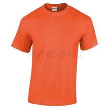 Gildan Boys Girls Heavy 100% Cotton Plain Blank Tee T-Shirt