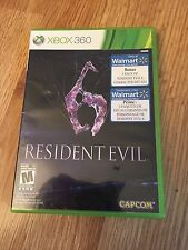 Resident Evil 6 Xbox 360 Cib Game No Manual Mint Disks Works W2