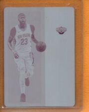 Anthony Davis 2017-18 Playoff Contenders Authentic Printing Magent Plate 1/1