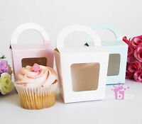 20x Cupcake Favour Boxes Bomboniere Wedding Birthday Gift Box Baby Shower