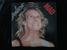 Raven-Mad-1986-British Hard Rock Heavy Metal-Album-Vinyl-LP