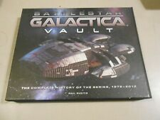 Battlestar Galactica Vault Complete History of the Series 1978-2012 Book/Extras