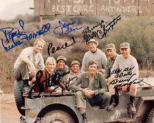 MASH Cast  8 x 10 Autograph Reprint Harry Morgan  Loretta Swit Jamie Farr +2