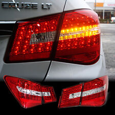 for CHEVROLET 2010 - 2014 Cruze Benz Style Trunk Rear LED Tail Light Lamp 4Pcs