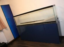 Fish Tank Aquarium 300L with Stand for Marine Tropical Cold 6 1/2 ft