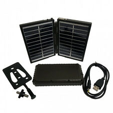 Trail Camera Cell Phone Camping Solar Panel Charger and 7200mAh Power Bank